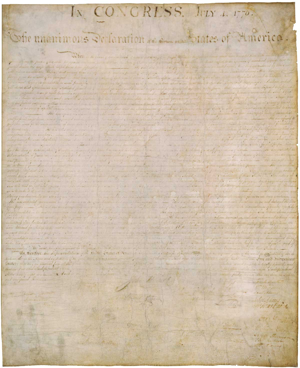 the history of declaration of independence The preamble of the declaration of independence presented in the following article will help you learn an important part of the american history.