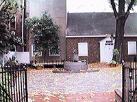 Betsy Ross House Courtyard - Betsy Ross House Tour