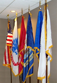 General questions vfw post 5422 for 3 flag pole etiquette
