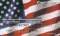 Capital One credit card promotion
