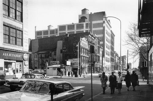 Photo of 4th and Arch Streets, Old City, Philadelphia, 1960