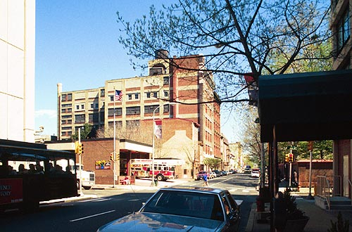 Photo of 4th and Arch Streets, Old City, Philadelphia, 2000