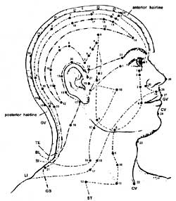 Chinese acupuncture diagrams
