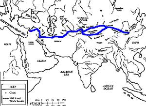 Han Dynasty  Cultural Heights Ushistoryorg The Silk Road Trade Route