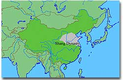 Lindsay\'s Shang Dynasty Blog Spot: Shang Dynasty Map
