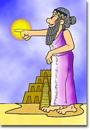 Hammurabi cartoon