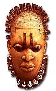 Mask from Benin City, Nigeria