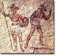 Gladiators, Chariots, and the Roman Games [ushistory org]