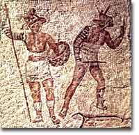 ancient roman games