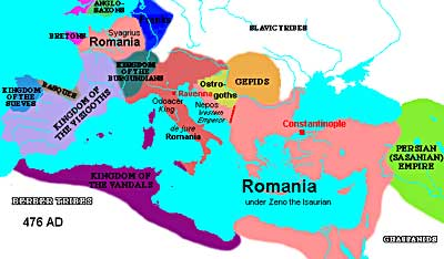 The Fall Of The Roman Empire Ushistory Org
