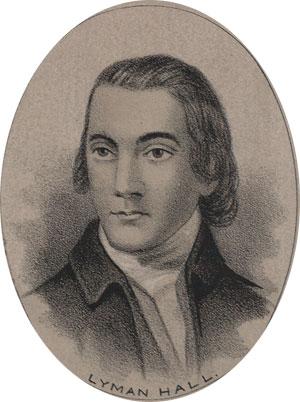 Lyman Hall american revolution