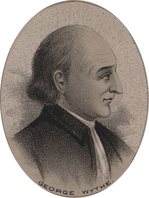 George Wythe, Declaration of Independence, Constitutional Convention