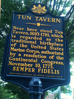 Philadelphia Walking Tour: Tun Tavern