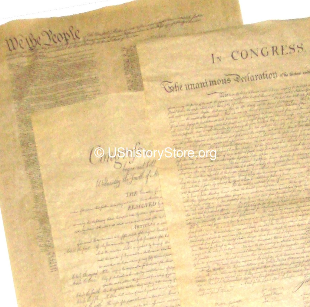 Bill of Rights Poster by Historical Documents 23 X 29
