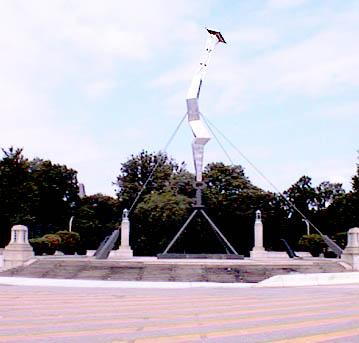 franklin s philadelphia isamu noguchi s lightning bolt sculpture