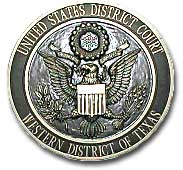 Seal of U.S. District Court of Western Texas