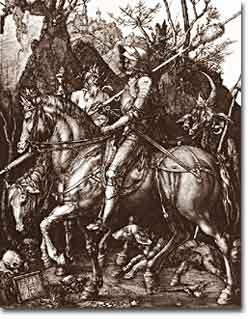 Albrecht Dürer's <i>The Knight, Death and the Devil</i>