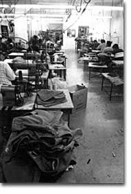 Garment sweatshop