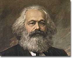Karl Marx, co-author of the <i>Communist Manifesto</i>
