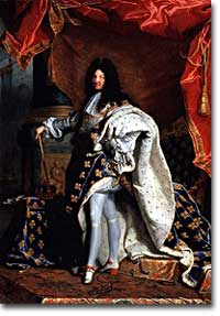 Louis XIV, absolute monarch