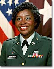 Brigadier General Clara L. Adams-Ender
