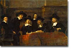 Rembrandt's Syndics of the Clothmaker's Guild