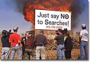 Just Say No to Searches