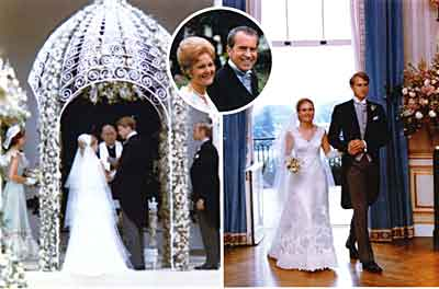 Wedding of Tricia Nixon Cox