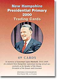 Presidential Primary Trading Card