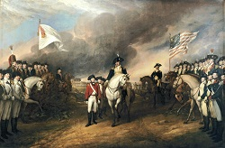 Surrender of Cornwallis, John Trumbull