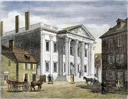 privately owned 1st National Bank of the United States