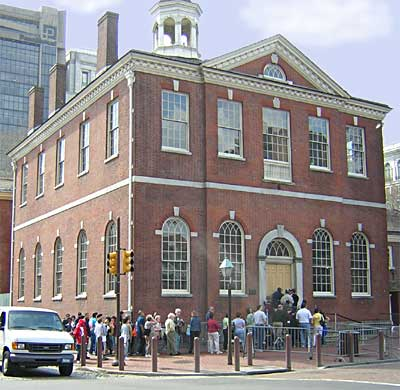 a history of the building of the old city of philadelphia A walking tour of old city philadelphia share pin email  opened in 1834 this building housed the philadelphia merchants exchange for many years  history and .