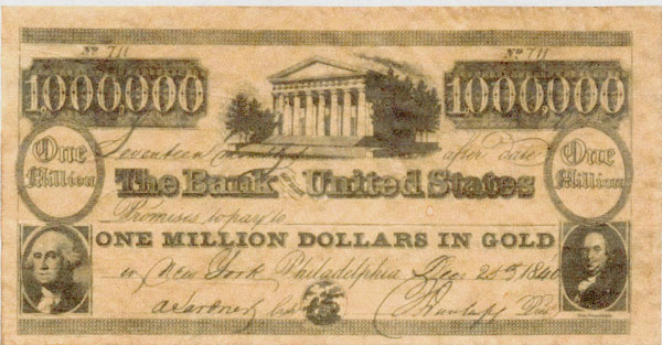 banknote $1,000,000