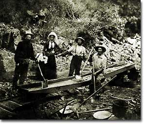California gold rush of 1849