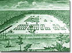 Savannah, 1734