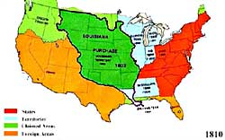 Westward Expansion The Louisiana Purchase ushistoryorg