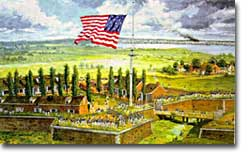 Fort McHenry and the American Flag