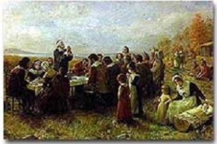 The First Thanksgiving by Brownscombe