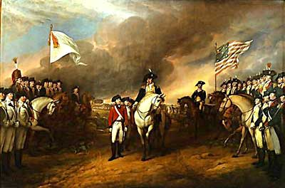 <i>Surrender of Lord Cornwallis</i>
