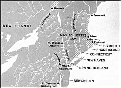 how did religious dissent shape the history of the new england colonies The new england colonies of british america for school also helped shape the public imports, new england's colonies could not offer.