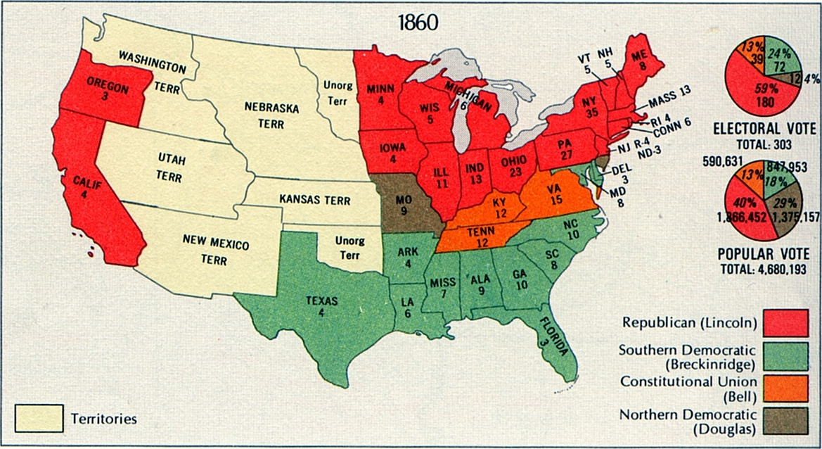 The Election of 1860 [ushistory.org]
