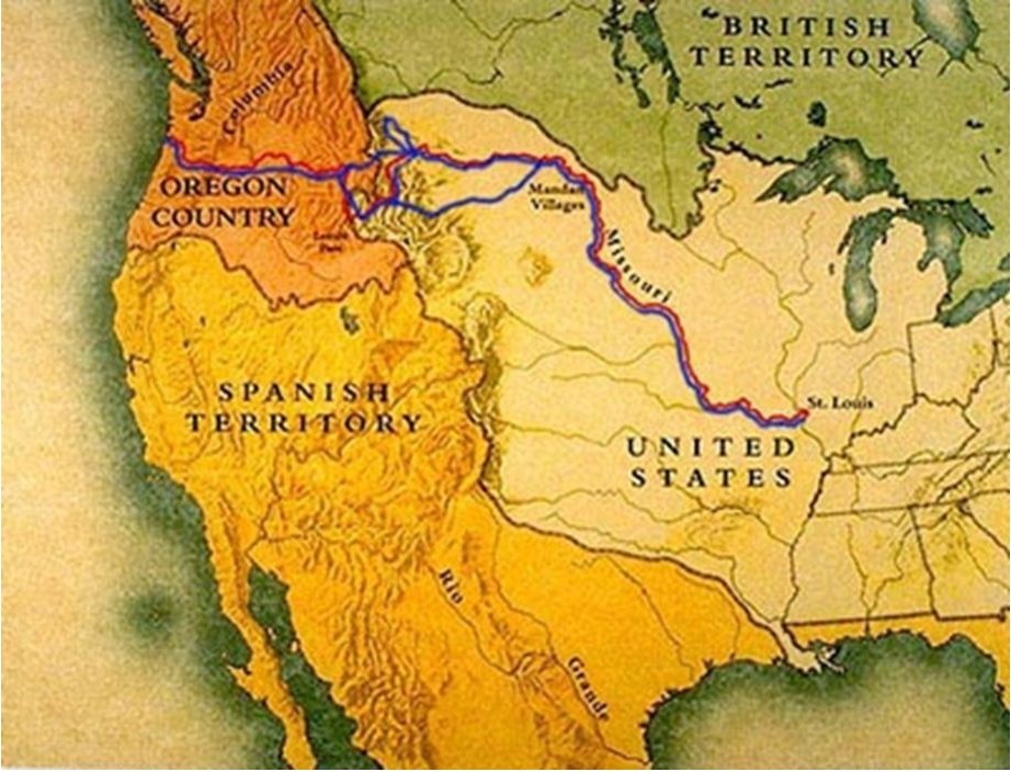 Expedition Made Successful Return From >> Exploration Lewis And Clark Ushistory Org